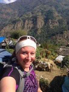 Hiking to Ghorepani